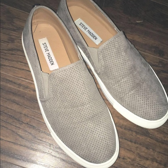 Steve Madden Shoes | Canvas Slip Ons